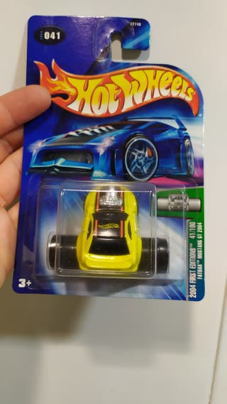 Hot wheels Ford Mustang fatwheel