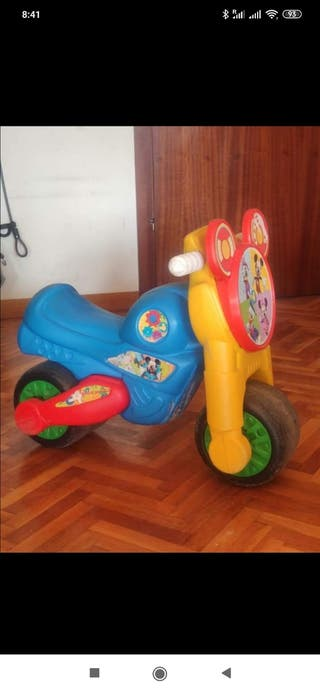 moto niño y nina