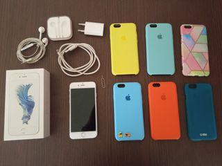 iPhone 6S 32GB blanco + complementos