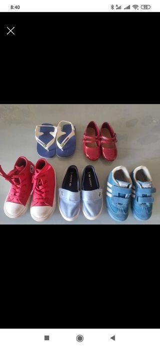 zapatos niño y nina talla 24