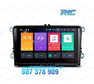 "RADIO GPS ANDROID 8.0 OREO 9"" VW USB GPS TACTIL HD"