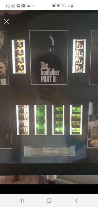 Gofather Trilogy authentic film cells