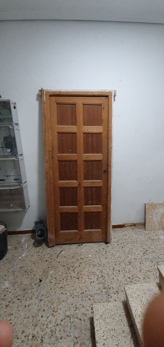 puerta entrada maziza