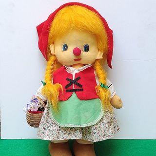 Muñeca Caperucita Quirón años 70