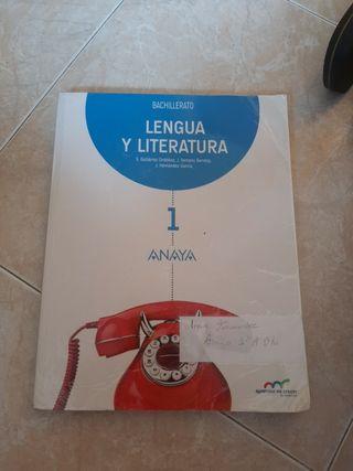 Libro lengua Anaya 1°Bach