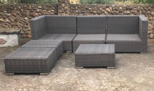 Conjunto modular sofá exteriores BRAMPTON
