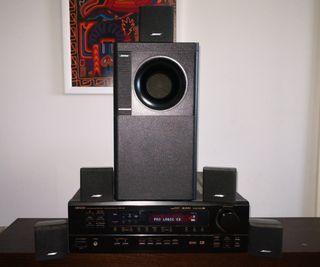 sistema de sonido Hi-fi con Home Cinema