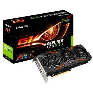 tarjeta grafica Gigabyte GeForce GTX 1070 G1 Gamin
