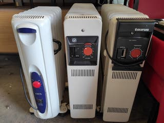 3 calentadores radiadores Taurus, Jata, S&P