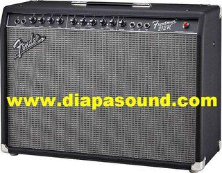 Alquiler amplificador de guitarra Fender