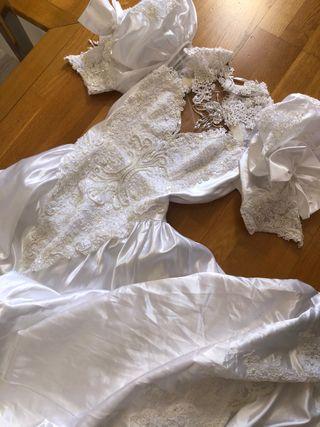 Vestido novia Año 89
