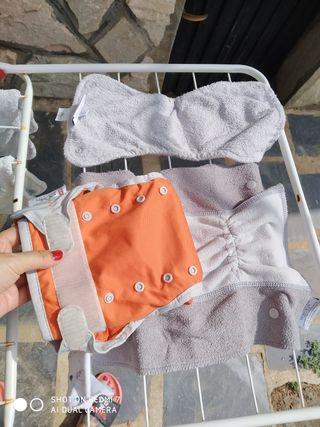 Pañales reutilizables de tela Pop In