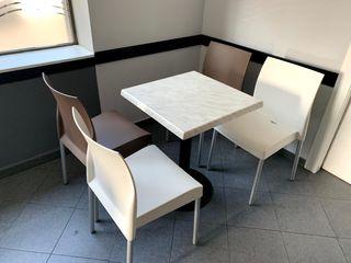 Mesas y sillas bar cafeteria hosteleria