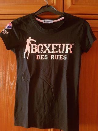 camiseta chica boxeur