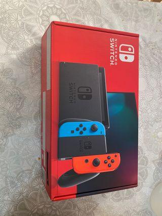 Caja Nintendo Switch d