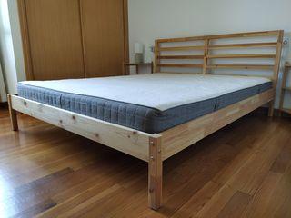 IKEA TARVA Estructura cama, pino, Luröy, 160x200cm de