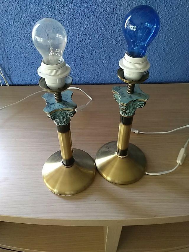 lampara de mesa.