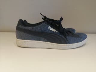 Zapatillas Puma mujer azules 38,5.como nuevas