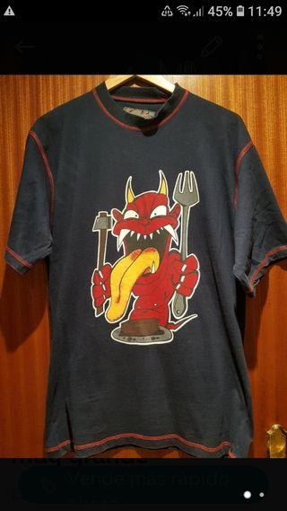 camiseta talla L pequeña