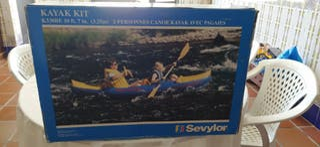Canoa hinchable marca Sevylor