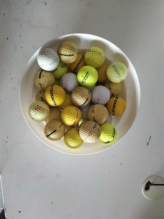 40 pelotas de golf