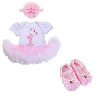 vestido bodysuit bebé niña nuevo cumpleaños