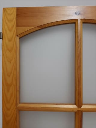 Puerta interior vidriera