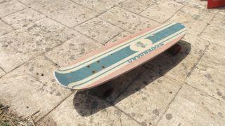 Skate Monopatín antiguo