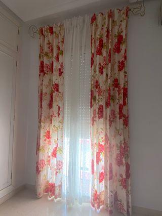 Conjunto cortinas