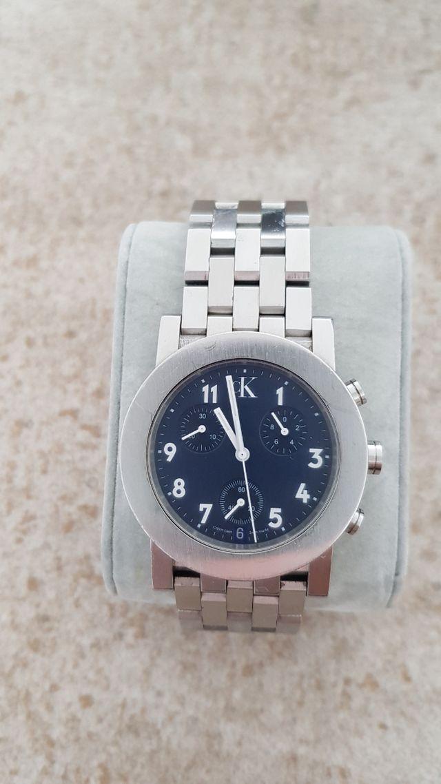 Reloj pulsera CK acero