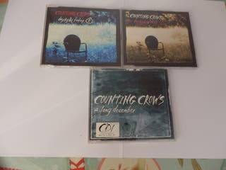COUNTING CROWS - LOTE 3 MAXI-CD´S