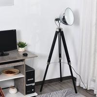 Lámpara de Pie Trípode Altura Ajustable Interrupto
