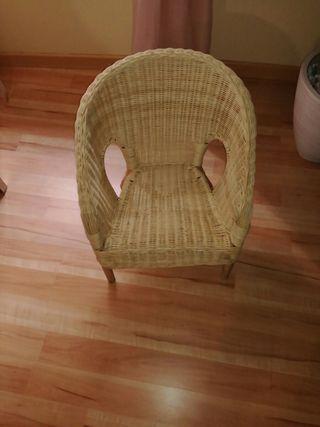 silla de membre Ikea niños