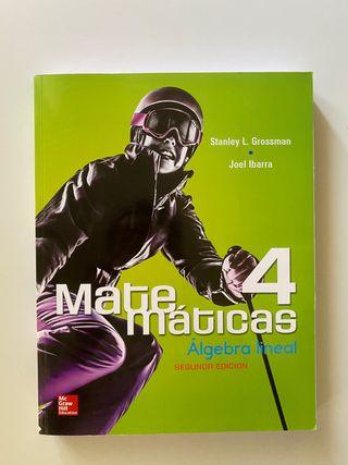 Matemáticas libros