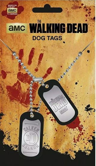 The Walking Dead - Dog Tag - Walker Hunter.