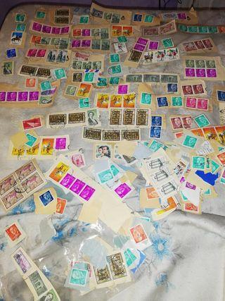 antiguos sellos españoles