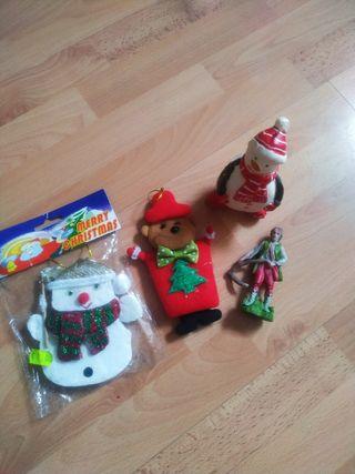 pack Navidad vela muñeco nieve
