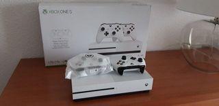 Xbox one S 2 mandos y juegos