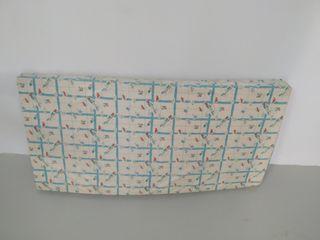 colchón plastificado cuna de viaje