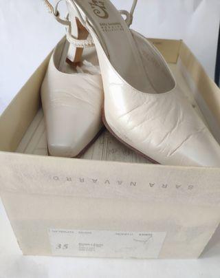 Zapatos Ceremonia Wedding Colecctión Sara Navarro
