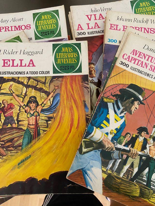 """Cómics """"Joyas Literarias Juveniles"""""""