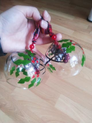 pack Navidad bolas cristal