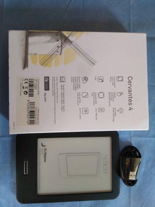 Ebook-libro electronico BQ CERVANTES 4