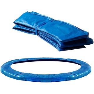 Deuba Cojín de protección Azul de PVC cubierta