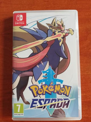 Pokémon espada Nintendo switch +steel zadian