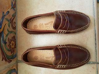 Calzado mocasines de niño talla 30