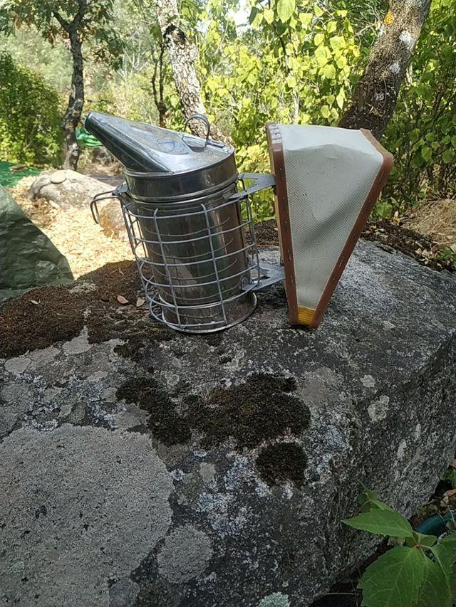 fumigador abejas
