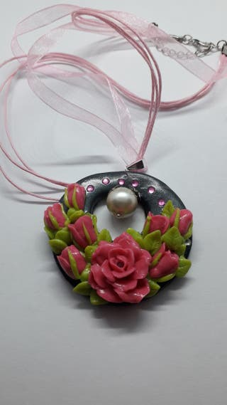 Handmade Jewelry Pendant Necklace