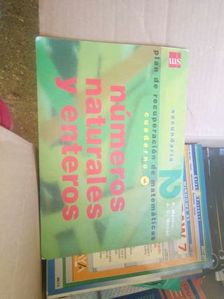 libro matematicas sm numero naturales y enteros