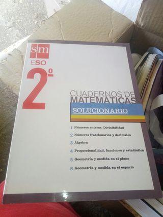 cuaderno matematicas 2 eso